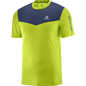 Salomon Fast Wing Running T-shirt Men green